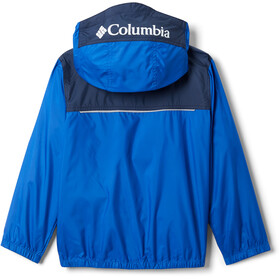 Columbia Bloomingport Veste coupe-vent Enfant, azul/collegiate navy